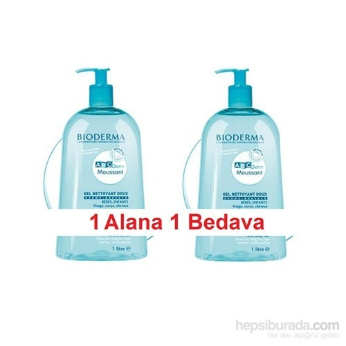 Bioderma ABCDerm Foaming Cleanser 1000ml